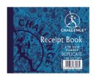 Challenge Duplicate Book Gummed Sheets with Carbon Receipt 2-to-View 105x130mm Ref 100080444 [Pack 5